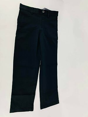 Haggar Sustainable Chino Pull-on Pants Boys, Size 7, Black