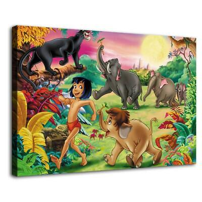 "16""x24""Disney HD Canvas prints Painting Home Decor Picture Room Wall art Poster"