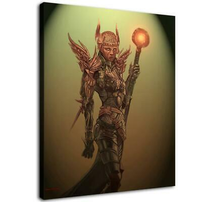 "16""x20""Abstract Egyptian god HD Canvas Prints Home Room Decor Wall art picture"