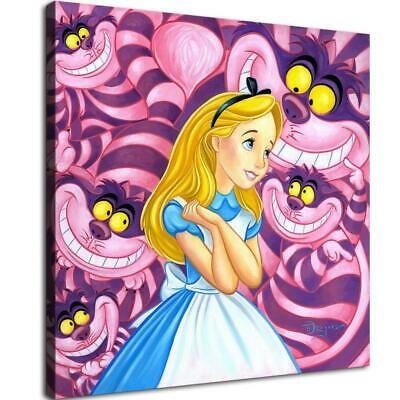 """16""""x16""""Disney HD Canvas print Painting Home Decor Picture Room Wall art Poster"""