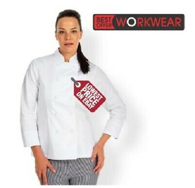JB's WEAR JB's LADIES L/S CHEFS JACKET JBS 5CJ1