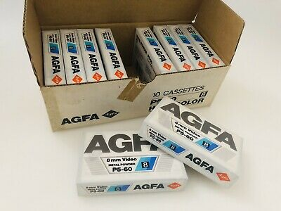 Agfa 8mm Video Cassette New Old Stock