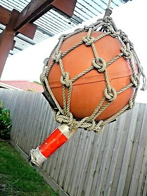 Floating Sea Buoy. Original - Used. Ideal for Holiday House Barbeque or Display.