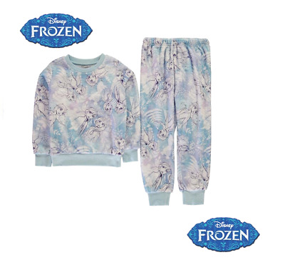 Pyjama en polaire la Reine des neiges fille officiel Disney du 3 au 12 ans