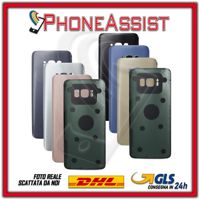 VETRO POSTERIORE SCOCCA Samsung Galaxy S8 G950F BACK COVER HOUSING