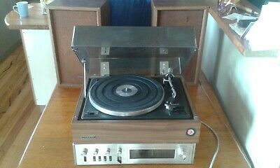 Original Onkyo Stereo Turntable and Amplifier System with Onkyo Speakers