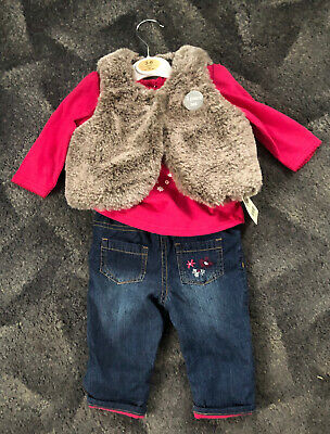 *XMAS CLEAROUT* Brand New With Tags Girls 3-6 Month 3 Piece Set Clothing *XMAS*