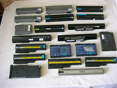 Stock Lot 20 Batteries for Laptops Acer Dell hp Lenovo Compaq Asus