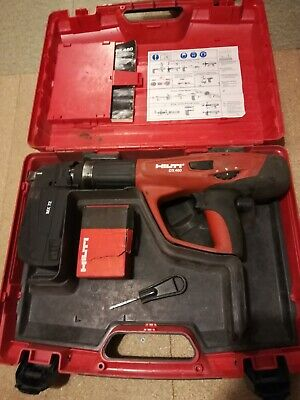 Hilti DX 460 Nail Gun with MX72 magazine, UK next day delivery
