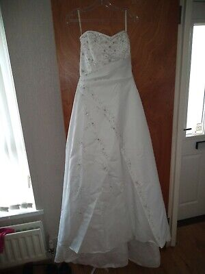 Zinnia Bridal Gown size 12+ Bag