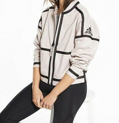 Adidas Reversable  Jacket Pearl Size Small