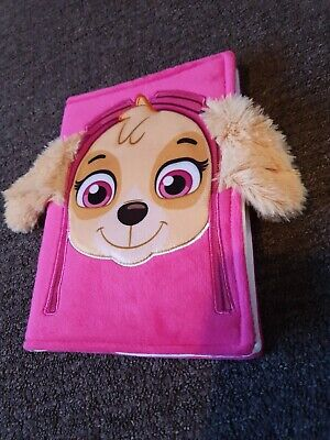 Skye From Paw Patrol Plush Notebook - New & Sealed