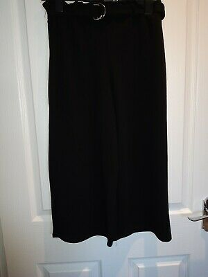 New Look Bnwt Black Size 14-15 Years Ring Top Culotte Girls