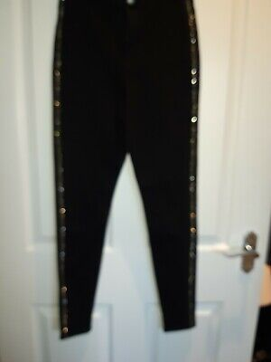 Primark Size Uk10 Sparkly Jeans Womans BNWT Skinny Fit