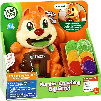 LeapFrog Number Crunching Squirrel **BRAND NEW**