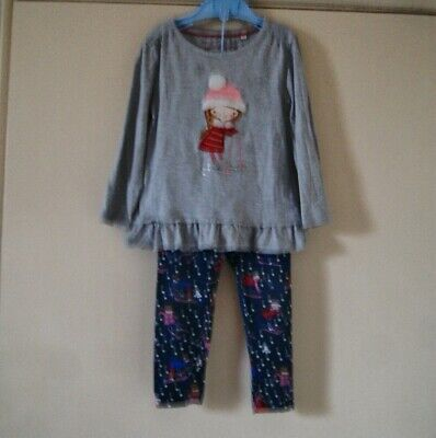 Girl's Lovely Top & Leggings by Blue Zoo size 3-4 yrs