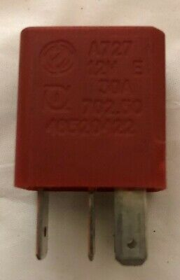 Fiat Alfa Lancia 4-Pin Multi-Use Red Relay 46520412 232005 30A B047E 95-10