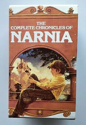 The Complete Chronicles of Narnia by C. S. Lewis Set Of 7 Paperbacks