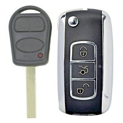 Range Rover L322 3 Button Remote Flip Key Case Upgrade Conversion Kit 2002-2005