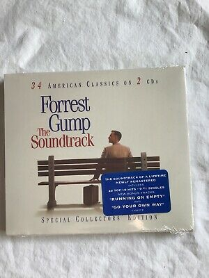 Forrest Gump - The Soundtrack (New CD, 1994) Elvis, Aretha, The Doors, Bob Dylan
