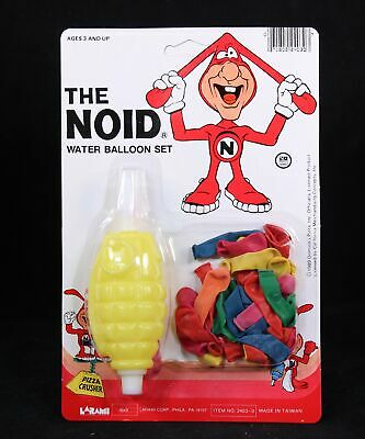 "1989 Domino's Pizza ""The Noid"" Water Balloon Set. NIP"