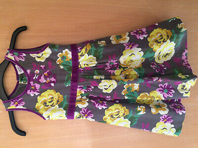 Mini Boden Cotton Pinafore Dress Age 5-6 Years                                YS
