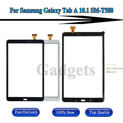 For Samsung Galaxy Tab A 10.1 2016 SM-T580 Touch Screen Front Glass Digitizer US