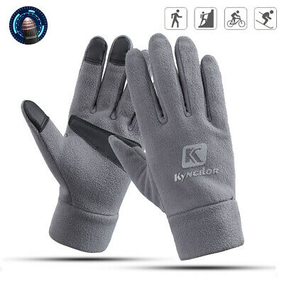 Fleece Warm Gloves Winter Glove Liners Thermal Lining Hands Warmer Cold Weather