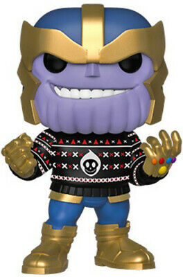 Holiday - Thanos - Funko Pop! Marvel: (2019, Toy NUEVO)