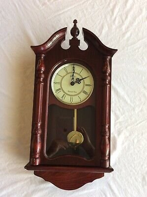 Stratford Westminster Chime Wall Clock Fully Functional Grandfather Clock Style