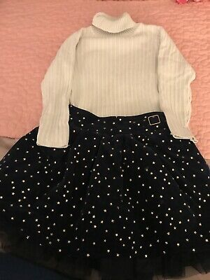Nutmeg Girls Party Christmas Outfit Age 3-4