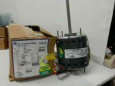 Blower Motor Part# 5Kcp39Pgbc29As 1/2 Hp 277/230 Volt 1075 Rpm Ge  New