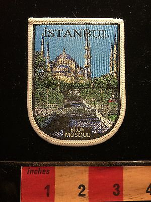 Blue Mosque INSTANBUL Country Of TURKEY Middle East Patch S60A