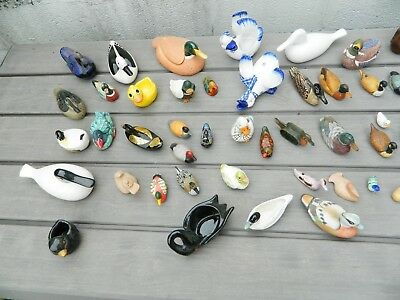 Collection de canards - (plus de 60 pièces)