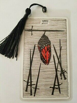 8 of SWORDS, Bookmark, The Wild Unknown Tarot Deck Card,  New, Gift, Oracle