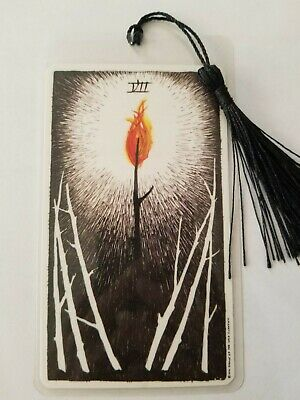 7 of Wands, Bookmark, The Wild Unknown Tarot Deck Card,  New, Gift, Oracle