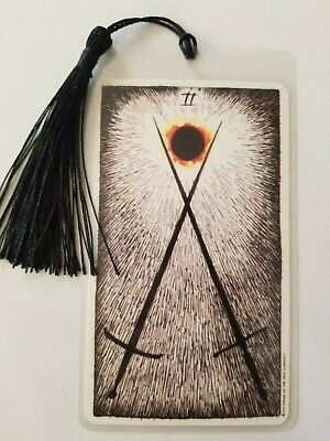 2 of SWORDS, Bookmark, The Wild Unknown Tarot Deck Card,  New, Gift, Oracle