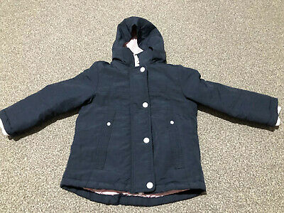 Girls Next Blue Winter Coat, 3 Years, Excellent Condition