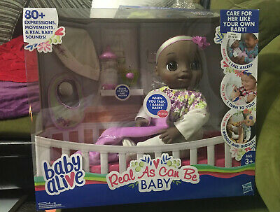 Baby Alive Real As Can Be Baby Realistic (Sculpted Hair) Baby Doll