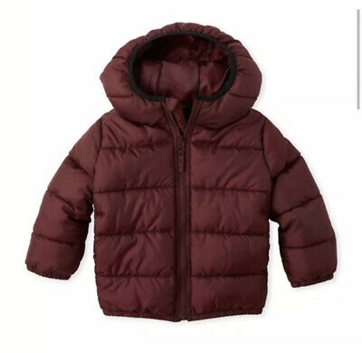 NWT The Children's Place Toddler Boys Puffer Coat Size 4T