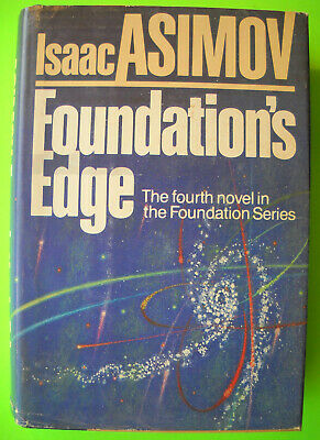 Isaac Asimov FOUNDATION'S EDGE Doubleday Hardcover Dust Jacket BCE VG 1982