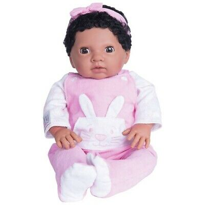 Chad Valley Tiny Treasures Baby With Pink Outfit & Headband Doll Gift Toy Set