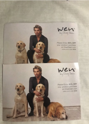 New Wen by Chaz Dean 30% off coupon UNLIMITED VALUE no expiration date