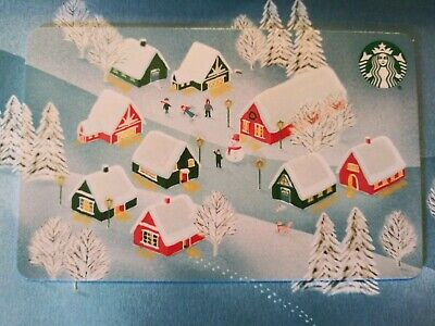 "Starbucks gift card 2019 ""ALL IS BRIGHT"" Beautiful Card. No Value. Mint"