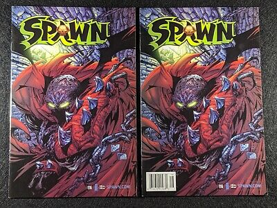 SPAWN #116 Newsstand & Direct Edition Variant Covers! Rare & HTF in single lot!
