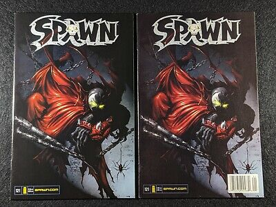SPAWN #121 Newsstand & Direct Edition Variant Covers! Rare & HTF in single lot!