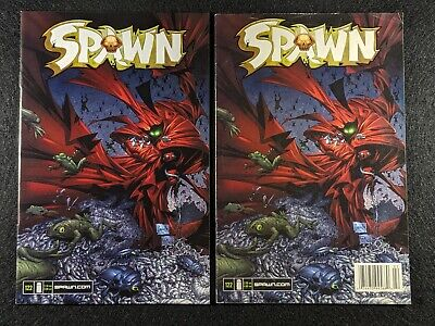 SPAWN #122 Newsstand & Direct Edition Variant Covers! Rare & HTF in single lot!