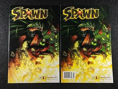 SPAWN #123 Newsstand & Direct Edition Variant Covers! Rare & HTF in single lot!