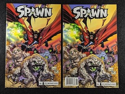 SPAWN #126 Newsstand & Direct Edition Variant Covers! Rare & HTF in single lot!