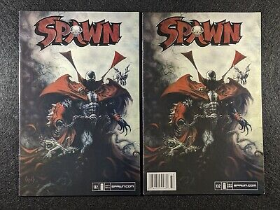 SPAWN #132 Newsstand & Direct Edition Variant Covers! Rare & HTF in single lot!